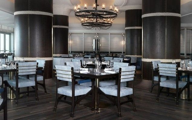 Scarpetta Restaurant in Miami by David Collins Studio