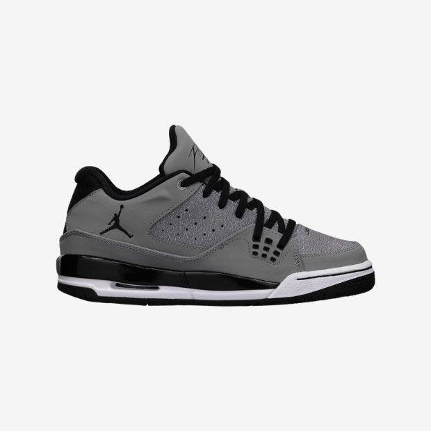 mens air jordan flight sc-1 shoes - black whitetail