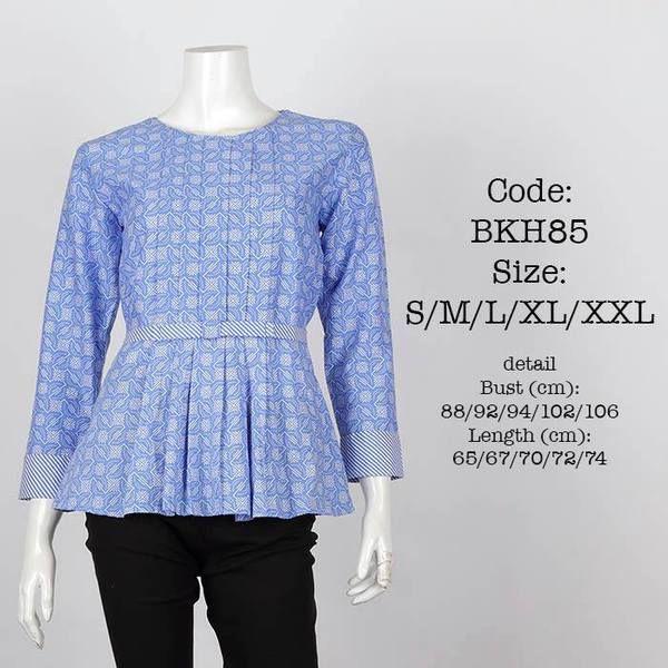 Blus Batik Kantor Rp 165,000
