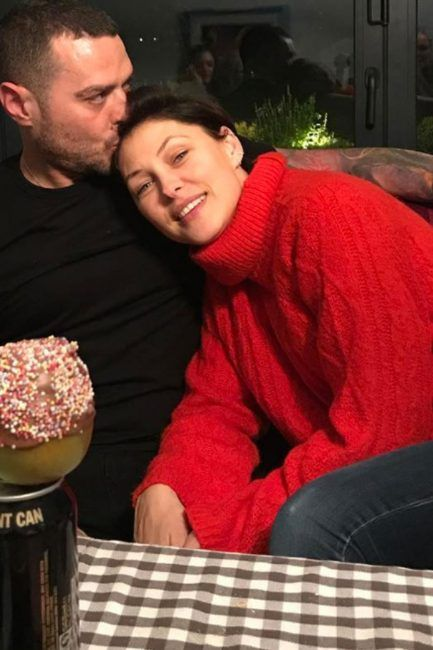 Emma Willis questioned by excited fans after wearing huge oversized knitted jumper in new loved up photograph with husband Matt Willis