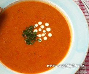 Luxury Tomato Soup: 90 Kcals Per Serving