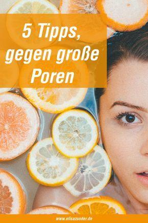Was hilft gegen große Poren? 5 Tipps und Hausmittel gegen große Poren im Gesicht