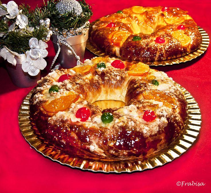Receta de Roscón de Reyes- ¡FANTÁSTICO! (manual y panificadora)   La Cocina de Frabisa