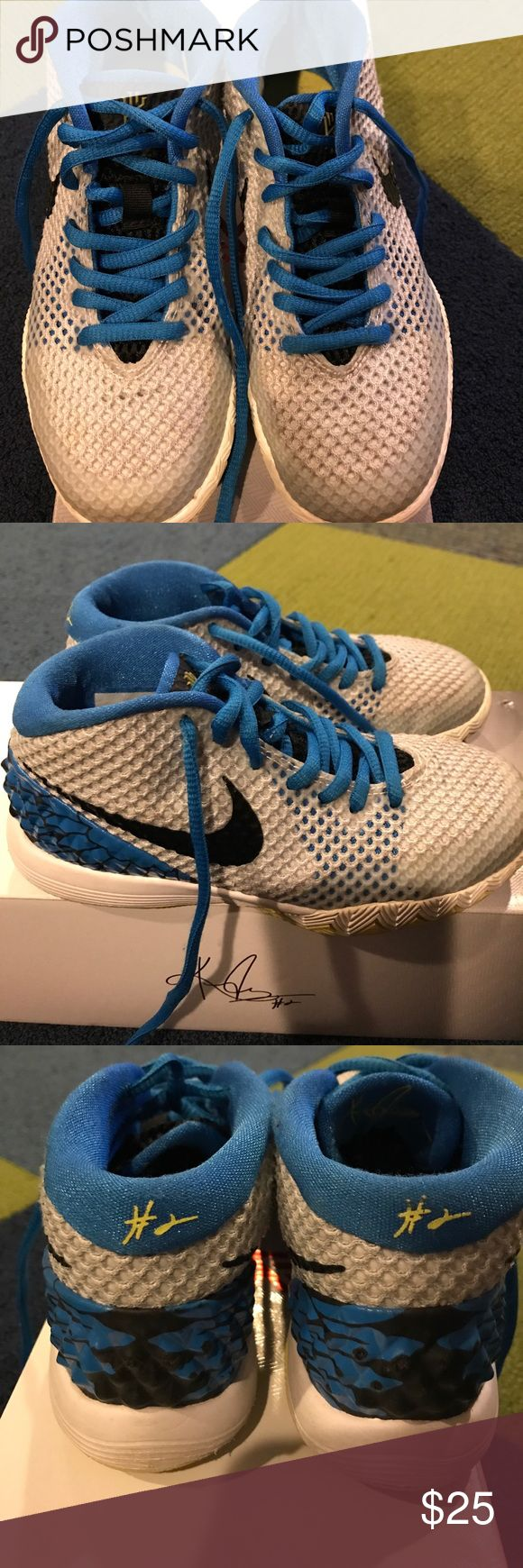 Kids Kyrie Irving Sneaker Kids Kyrie Irving sneaker.. great condition. Original Box included Nike Shoes Sneakers