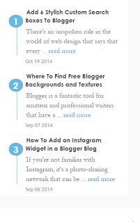 Tips Cara Mempercantik Blog Dengan Widget Artikel Terbaru/Recent Post Yang Elegancara ngeblog di http://www.nbcdns.com