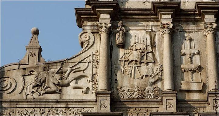 Китай. Макао. Руины Собора Святого Павла
