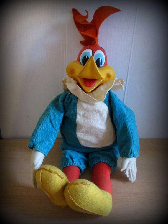 vintage woody woodpecker toy 3