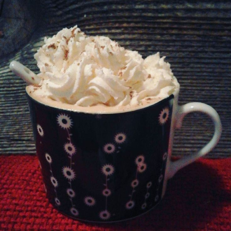 Morning everyone! It's a bit cloudy here but I reckon it will  be a a lovely day #morning #cappucino #goodmorningpost