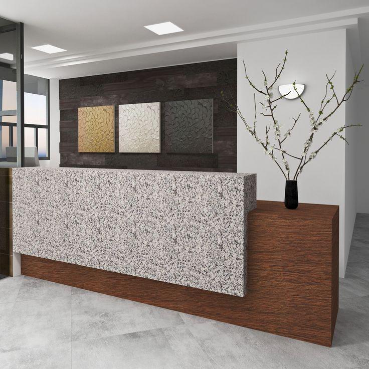 Dise o interior moderno contemporaneo lobby edificio dise o interior pinterest interiores for Diseno interior moderno