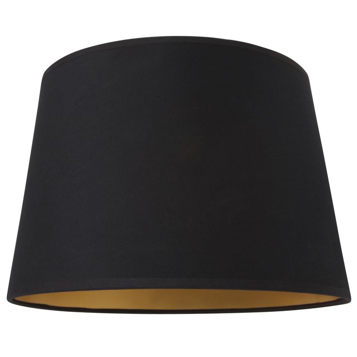 Laura Ashley black 12in shade with gold lining
