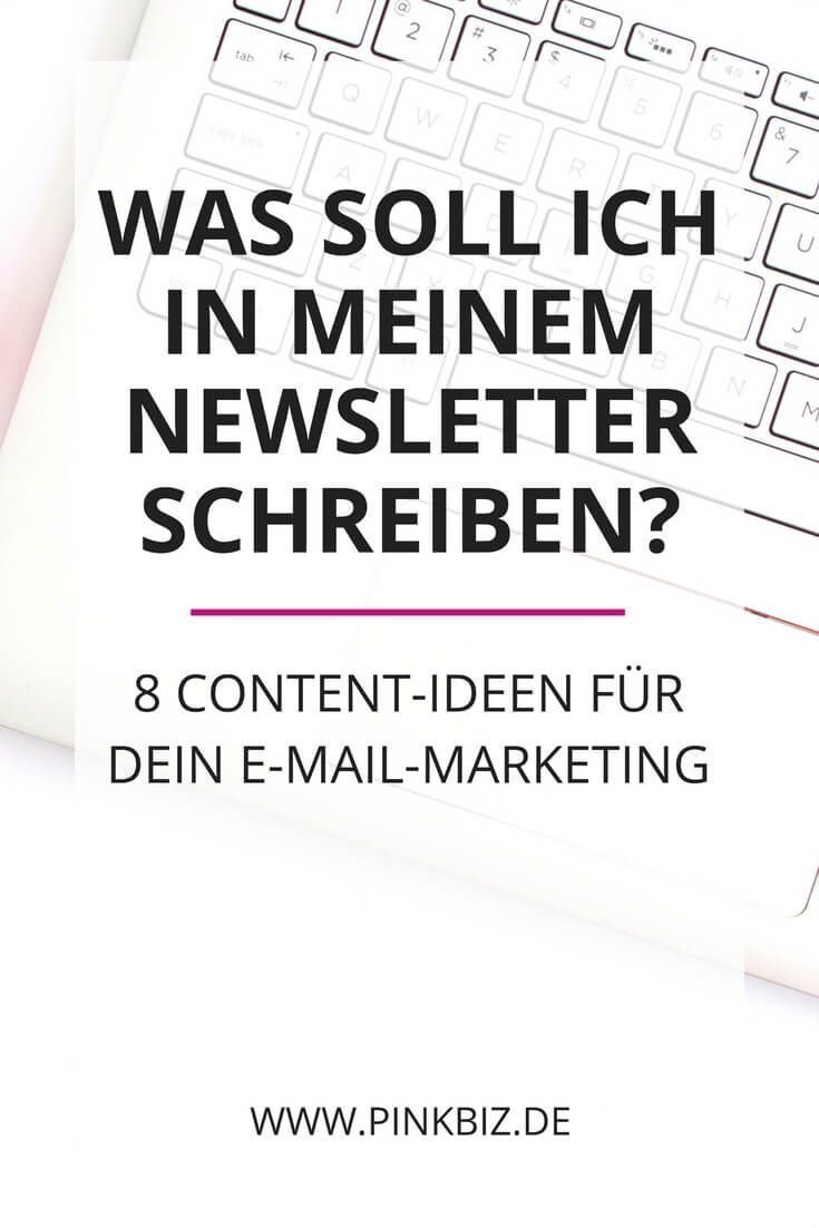Content-Ideen für dein E-Mail-Marketing – Sasibella  / Blog: Food, Party Ideas, DIY and Beautiful Things