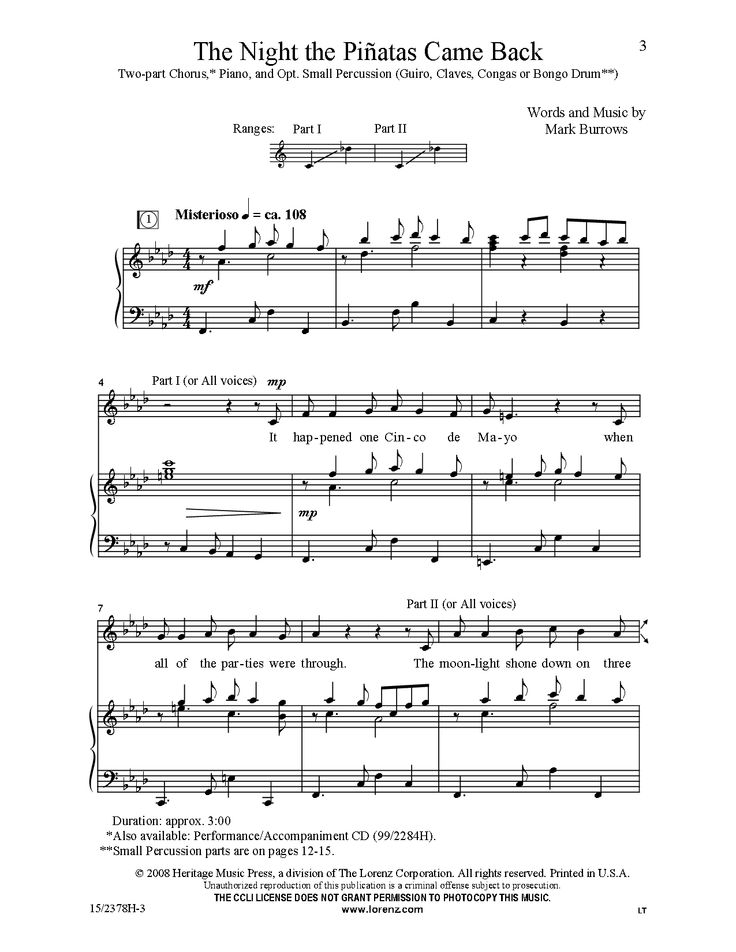 how to compose choral music pdf