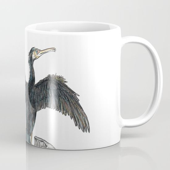 The Great Cormorant Mug