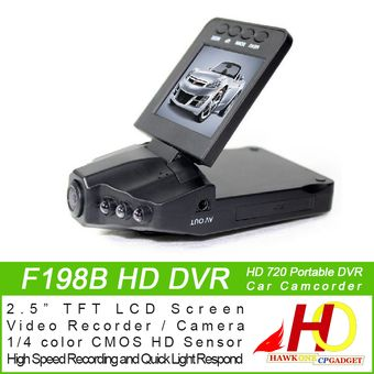 """Buy F198B HD DVR HD Carcam Car Camera Car Camcorder Dashcam Dash Camera Portable DVR with 2.5"""" TFT LCD Screen (Black) online at Lazada. Discount prices and promotional sale on all. Free Shipping."""