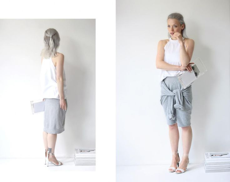 DIY: shirt skirt #loveaesthetics