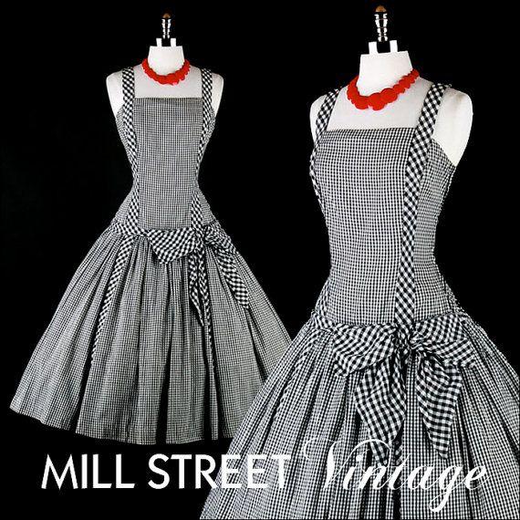 vintage 1950's dress: