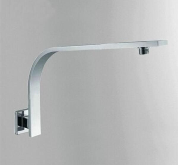 ==> [Free Shipping] Buy Best New Arrival 40CM Square Copper Shower Arm kit For Shower Head Holder Wall Mounted Chrome Plated Shower Bar Rod in Bathroom Online with LOWEST Price | 32805460932