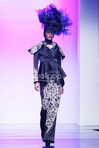 """Denny Wirawan """"Noblidonna"""", Jakarta Islamic Fashion Week 2013"""