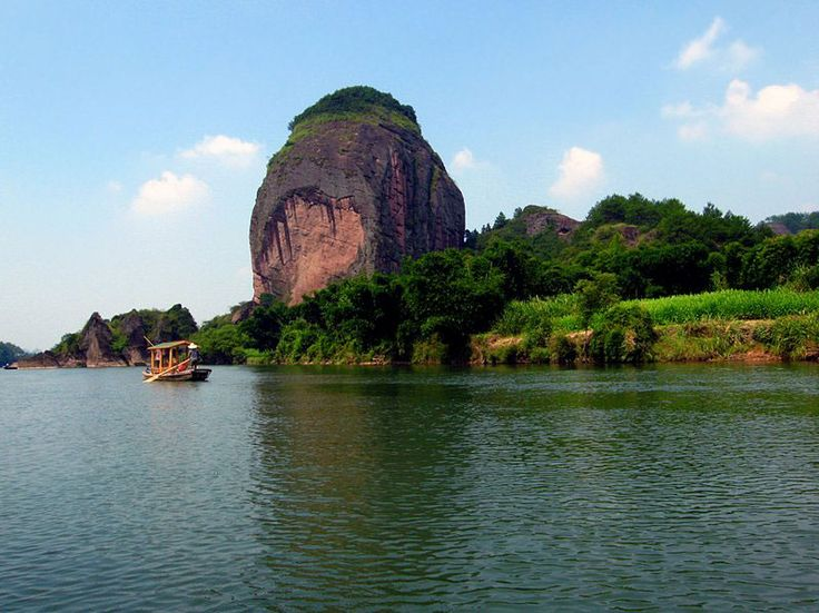 Longhushan Mountain is the birthplace of Chinese Taoism, located in ...