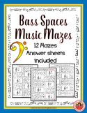 Bass Spaces Music Maze Puzzles
