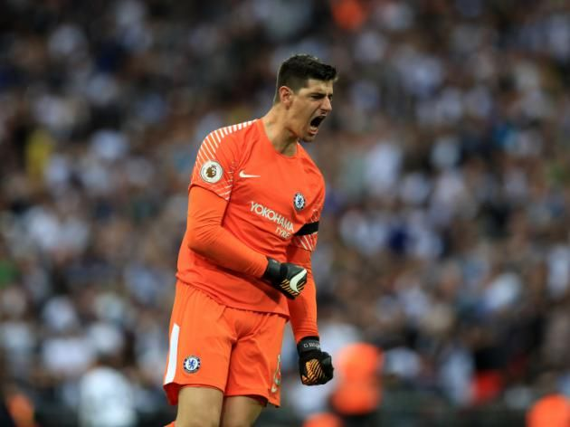 Chelsea keeper Thibaut Courtois claims Spurs could be in for more Wembley woe