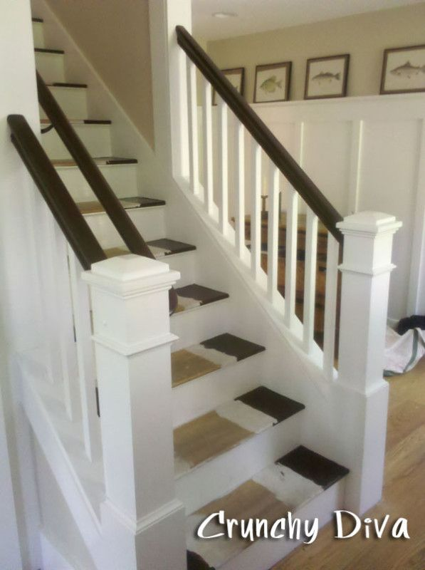 Open Staircase to LR and Kitchen (this staircase was ...