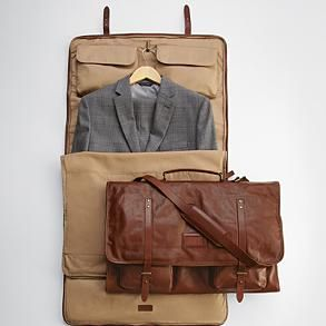 leather excursion garment bag from RedEnvelope.com bf359a845843a