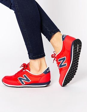 New Balance 410 Red Sneakers