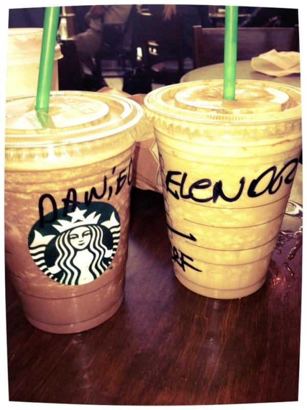 Eleanor lets go to Starbucks somtime! Your my sissy forever love you! @Eleanor Calder xx
