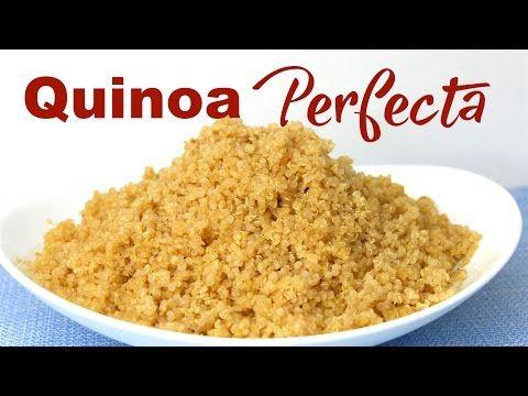 Cómo Cocer Quinoa Perfecta - Mi Cocina Rápida - YouTube