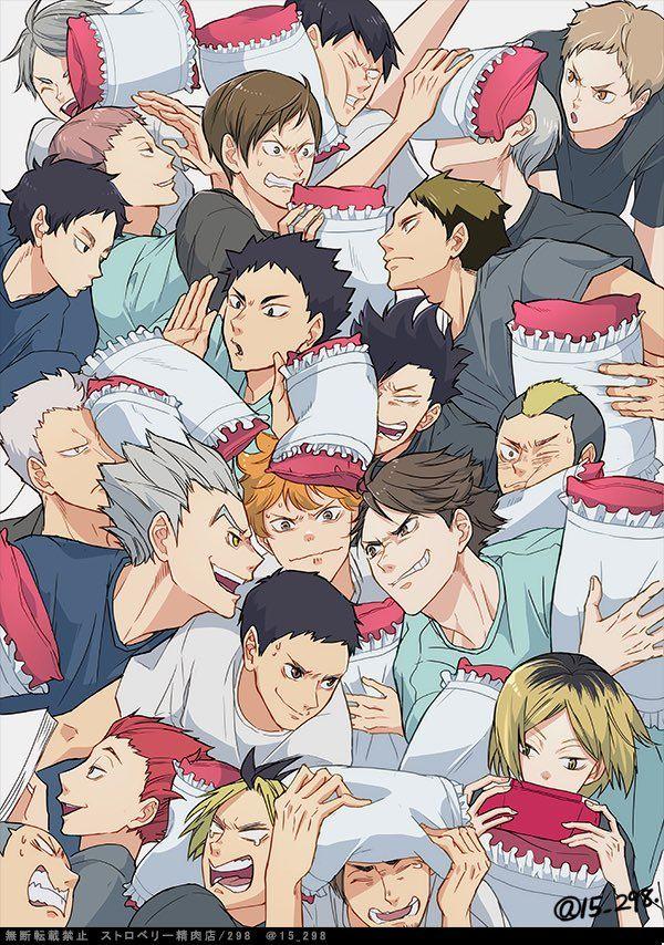 Haikyuu!! All the Boys ❤️ #HQ