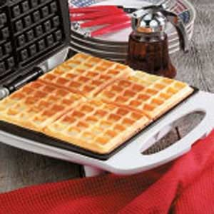 Cottage Cheese Waffles Recipe--replace flour with oats(oat flour) and the oil with butter and you have a nice healthy, no sugar, high protein breakfast!