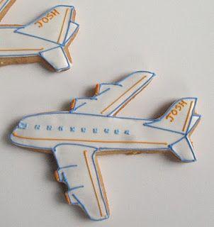 Resultado de imagen para galletas en forma de avion