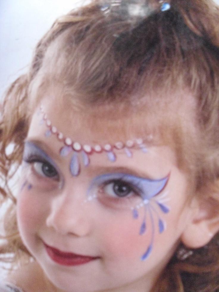 Princess Face Painting- several ideas