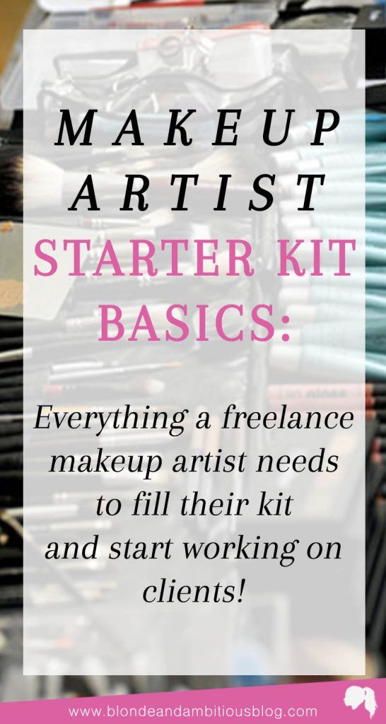 The BEST Makeup Artist Starter Kit Guide - every product you need for your kit when starting your freelance makeup artistry business | makeup artist kit, makeup artist guide, start kit, makeup artistry, freelance makeup artistry, freelance makeup kit, rolling makeup case