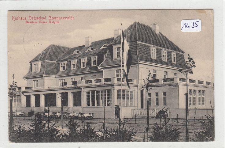 1635, Georgenswalde Restaurant Kurhaus, gelaufen FP 1915 !