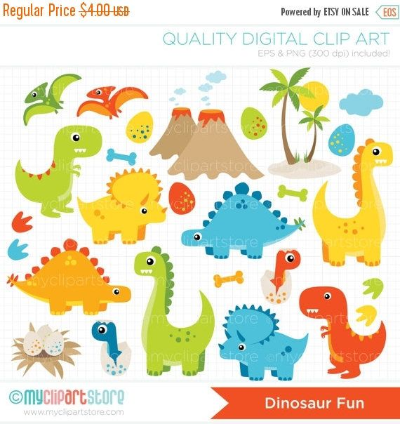 40% di sconto  Clipart  dinosauro divertimento Boy dinosauri