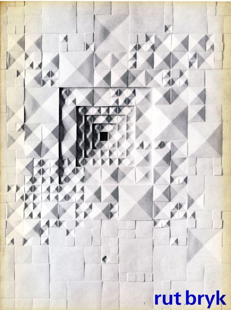 """Rut Bryk"" Exhibition Catalog, Stedelijk Museum, Amsterdam. Designed by Jolijn…"
