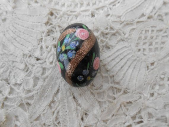 Antique millefiori glass bead