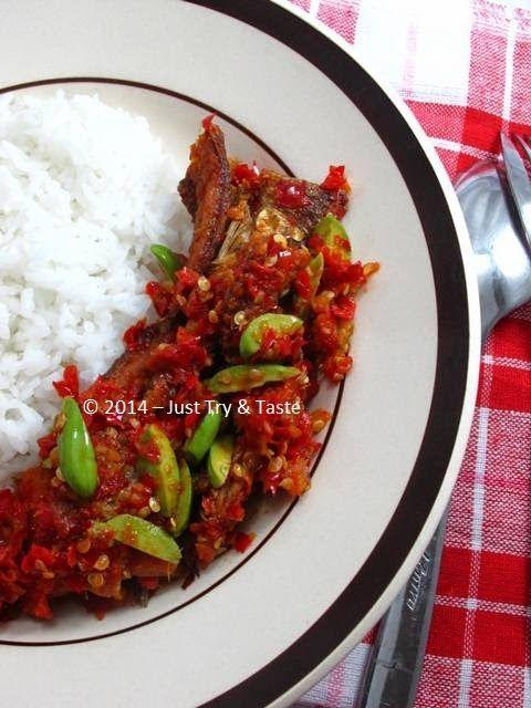 Just Try & Taste: Balado Ikan Asin dan Petai: Nampol enaknya!