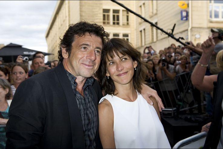 Sophie Marceau et Patrick Bruel avant la projection