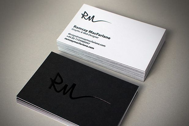 foiling business cards Google Search