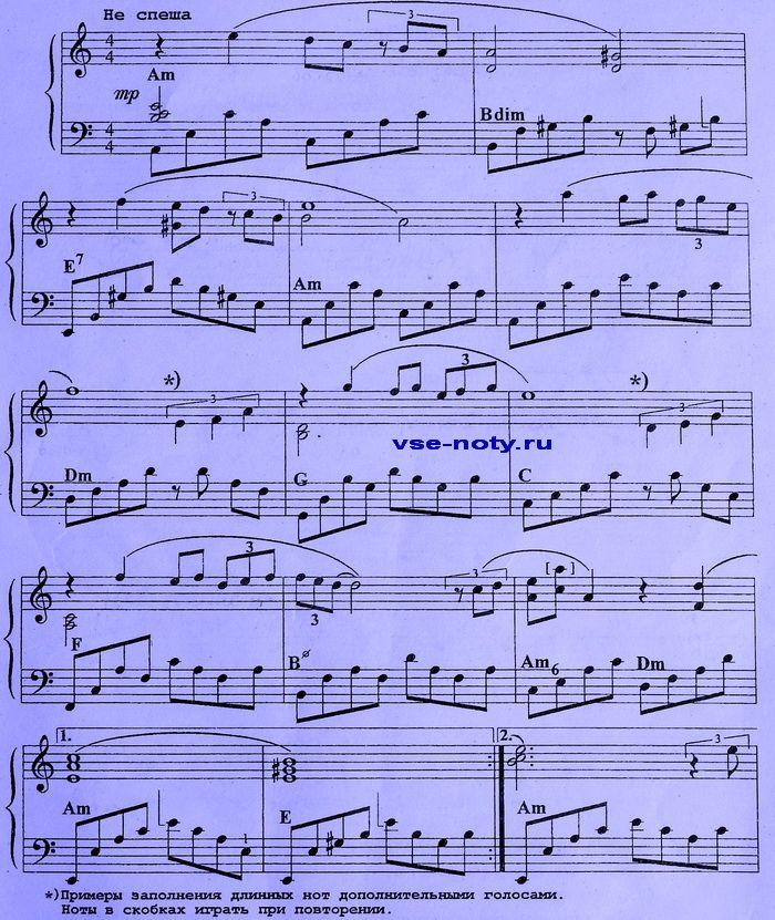Ноты и скрипичный ключ в картинках 2