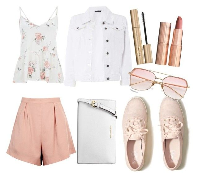 """""""Untitled #188"""" by zsofi-szibilla on Polyvore featuring Hollister Co., Finders Keepers, Dorothy Perkins, Michael Kors, Charlotte Tilbury and Stila"""
