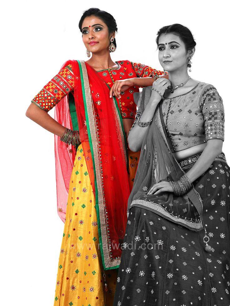 Traditional Choli Suit with Embroidery Work #rajwadi #cholisuit #readycholi #lehengas #embroidered #FeelRoyal #bridal #colorful
