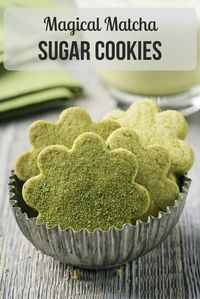 An easy, simple recipe for matcha sugar cookies with a subtle green tea flavor that's truly delightful. Try this quick recipe today! http://epicmatcha.com/magical-matcha-sugar-cookies/?utm_source=pinterest&utm_medium=pin&utm_campaign=social-organic&utm_term=pinterest-followers&utm_content=blog-magical-matcha-sugar-cookies