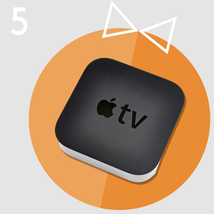 """Christmas Gift idea #5 - Apple TV.   What's Apple TV? Here's what you find on the Apple website: """"Choose from thousands of blockbuster movies and the latest TV shows in addition to classic films and shows from iTunes — many in stunning 1080p HD.""""  It's like a little magic entertainment box full of exciting content whenever you need it. All at just €109."""