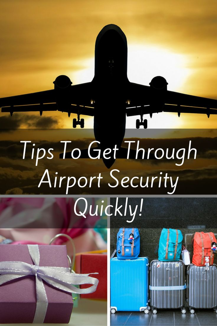 Airport security can be stressful no matter what time of the year but during the holidays, it can get trickier and more frustrating! Here are some tips to get through airport security quickly, especially during the holidays!