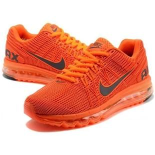 http://www.asneakers4u.com/ Discount 2013 Nike air max mens sneakers orange sz 40 45