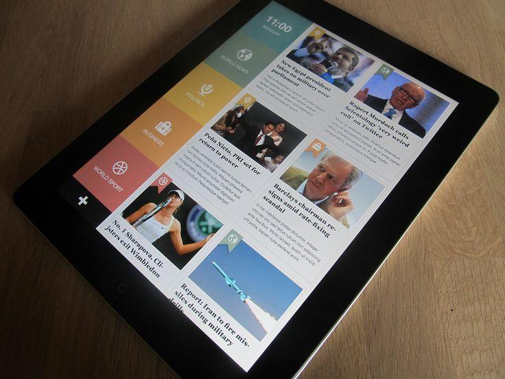 19 best images about UI design-news app on Pinterest